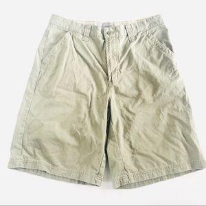 Eddie Bauer Mens Khaki 34 Shorts